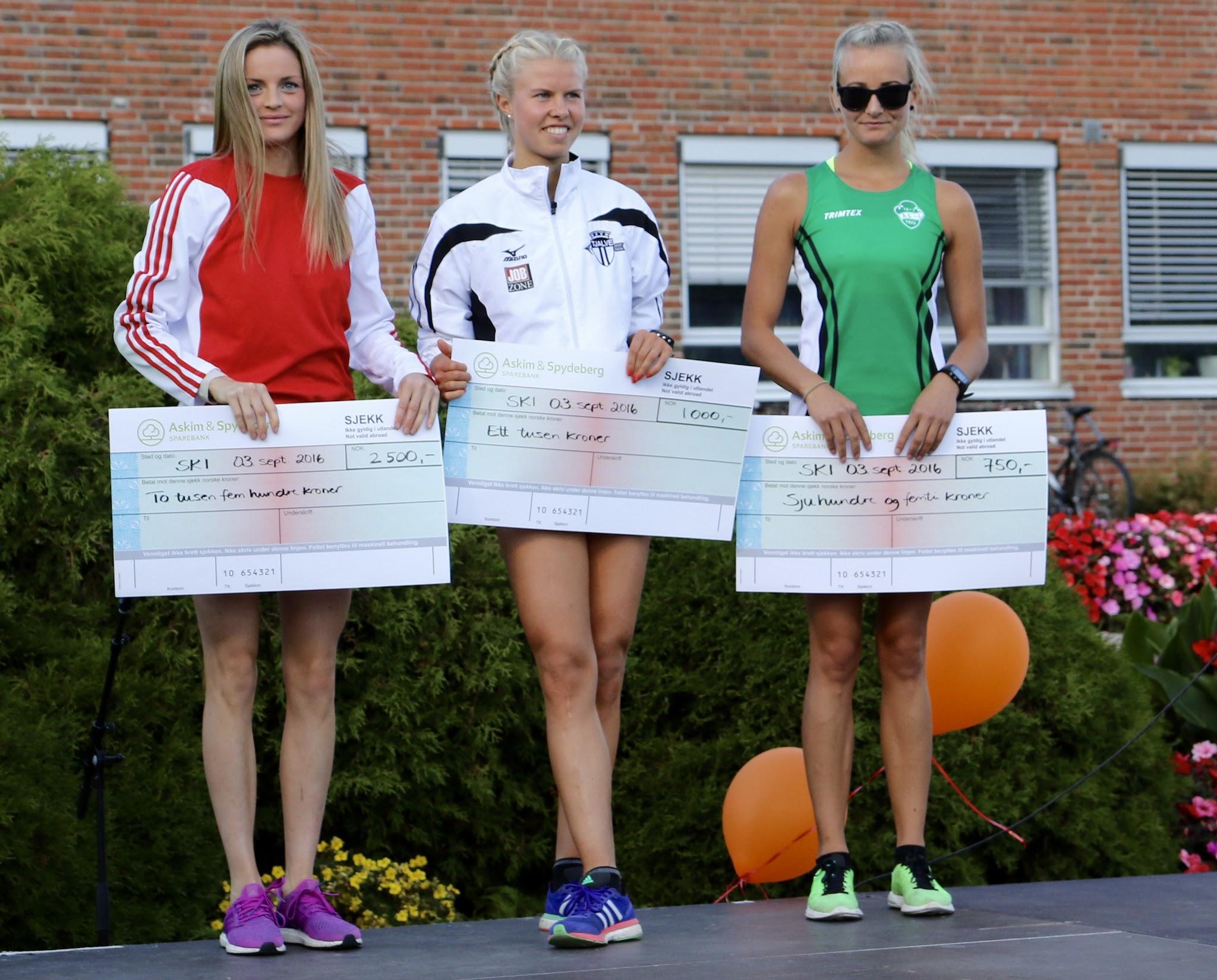 SkiLøpet vinnere kvinner 2016